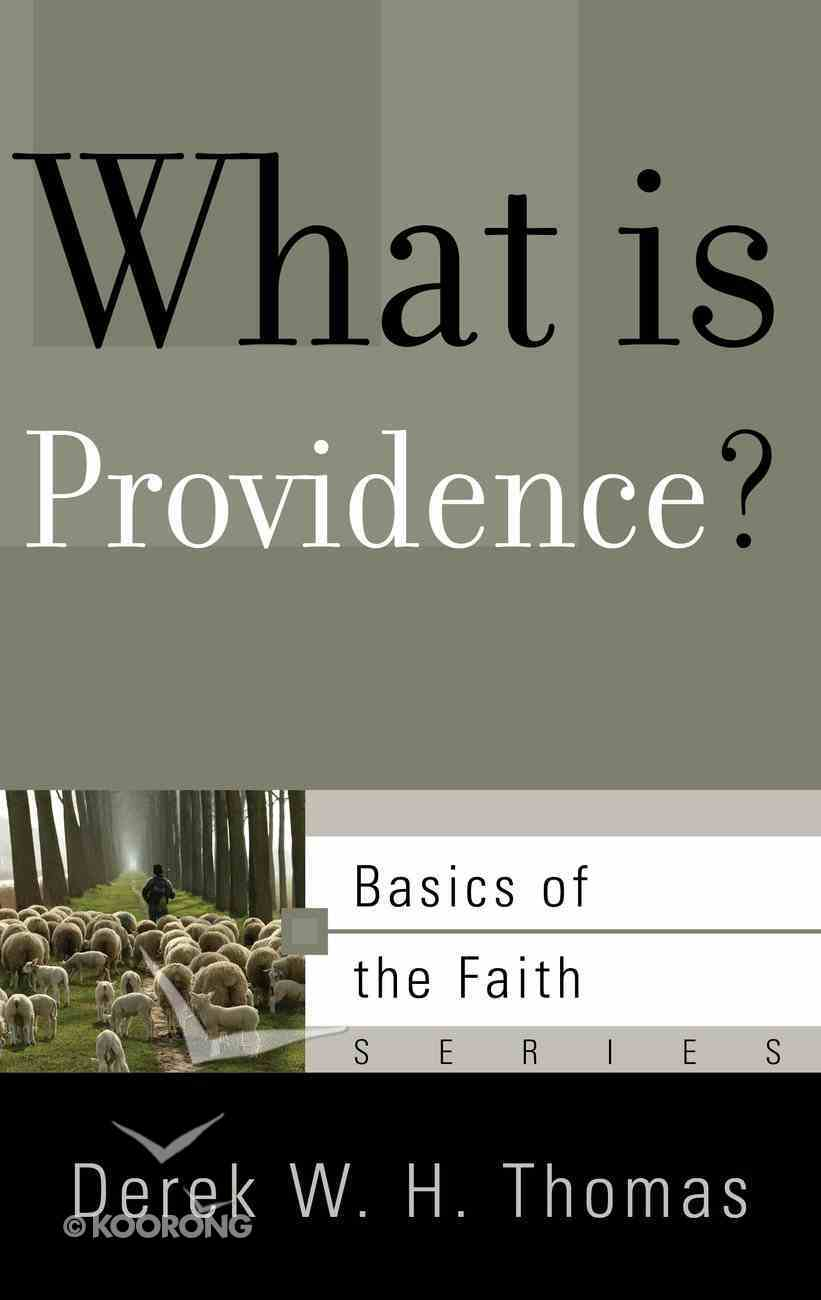 What is Providence? (Basics Of The Reformed Faith Series (Now Botf)) Paperback