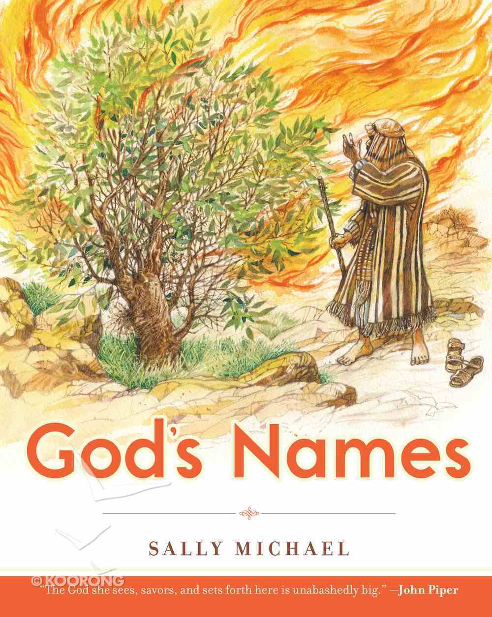 God's Names (Making Him Known Series) Paperback