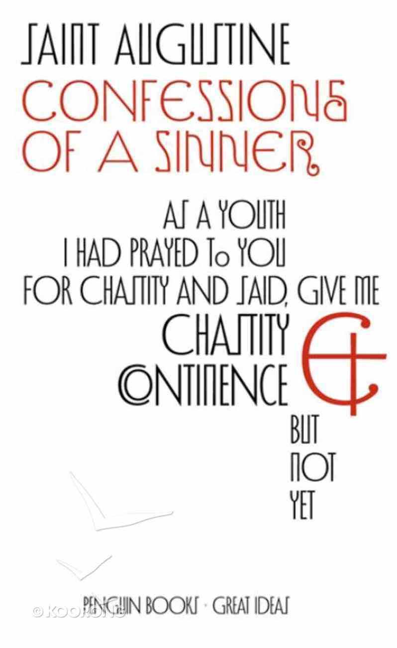 Confessions of a Sinner Paperback