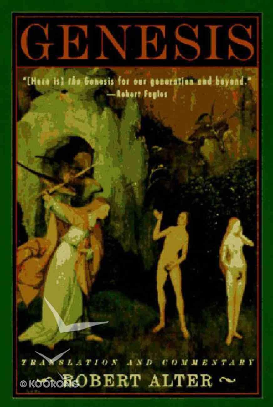 Genesis: Translation & Commentary Paperback