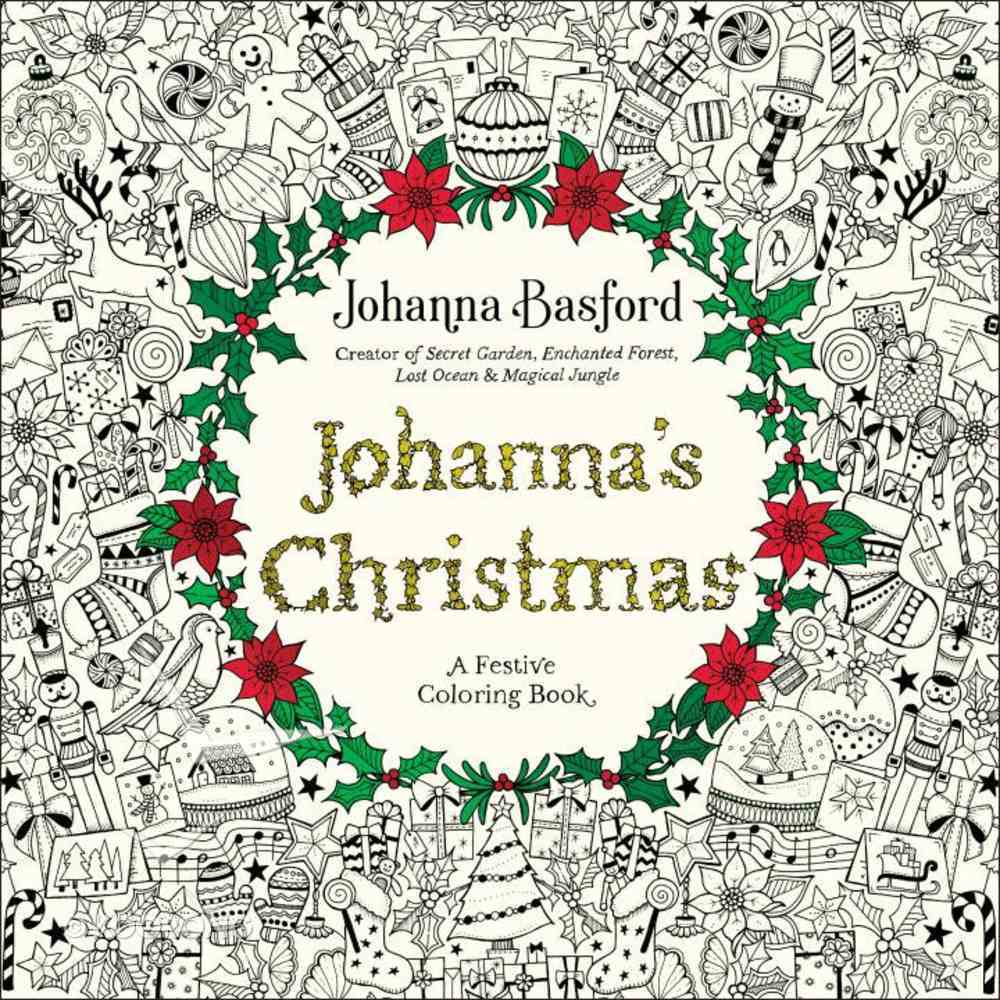 Johanna's Christmas (Adult Coloring Books Series) Paperback