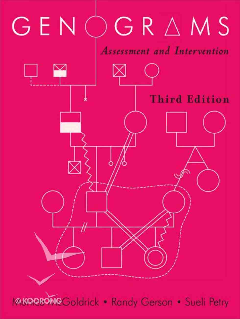 Genograms: Assessment and Intervention (Third Edition) Paperback