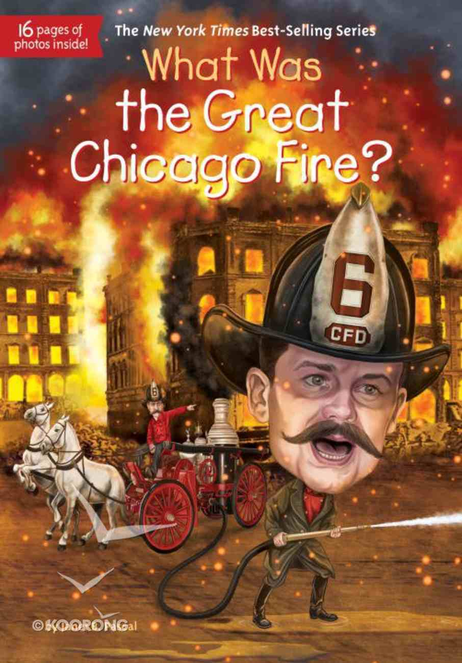 What Was the Great Chicago Fire? Paperback