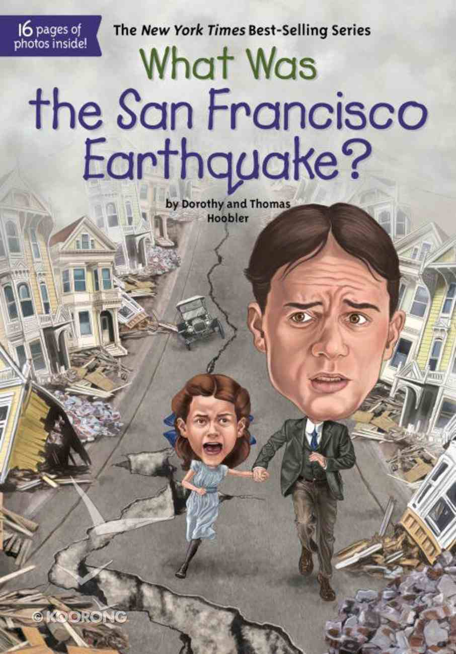 What Was the San Francisco Earthquake? Paperback