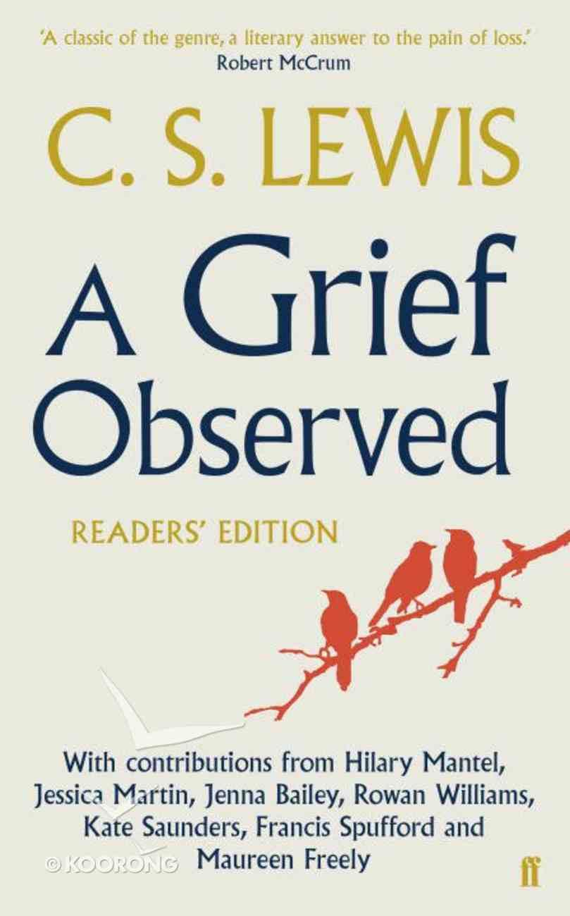 A Grief Observed: Reader's Edition Paperback