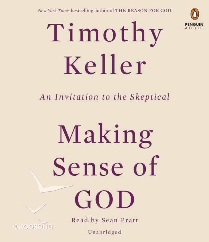 Making Sense of God CD