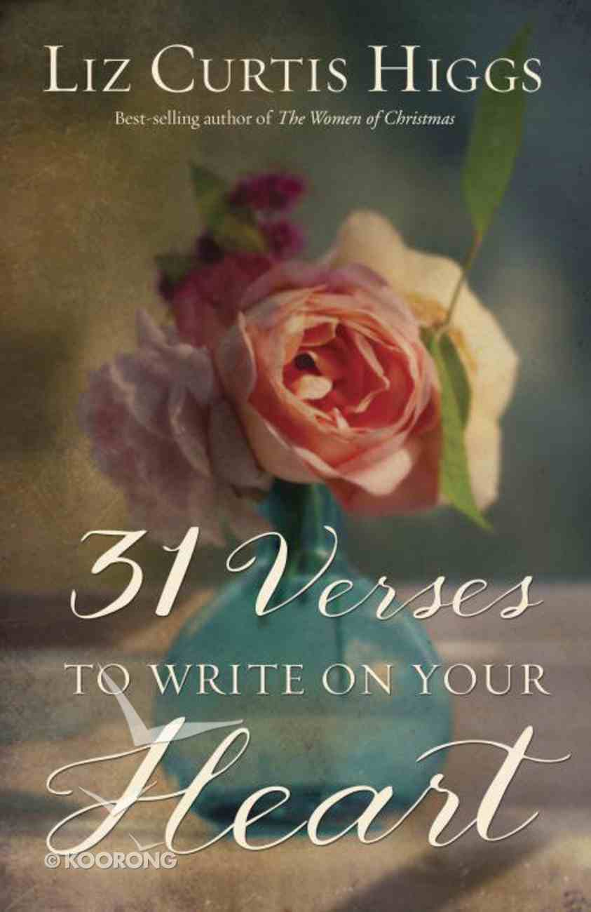 31 Verses to Write on Your Heart Paperback