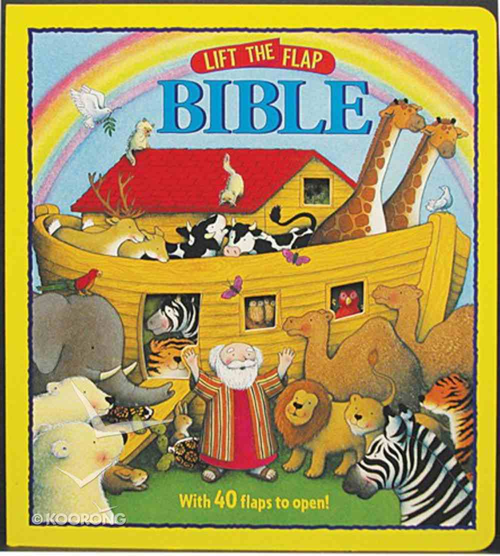Lift the Flap: Bible Board Book