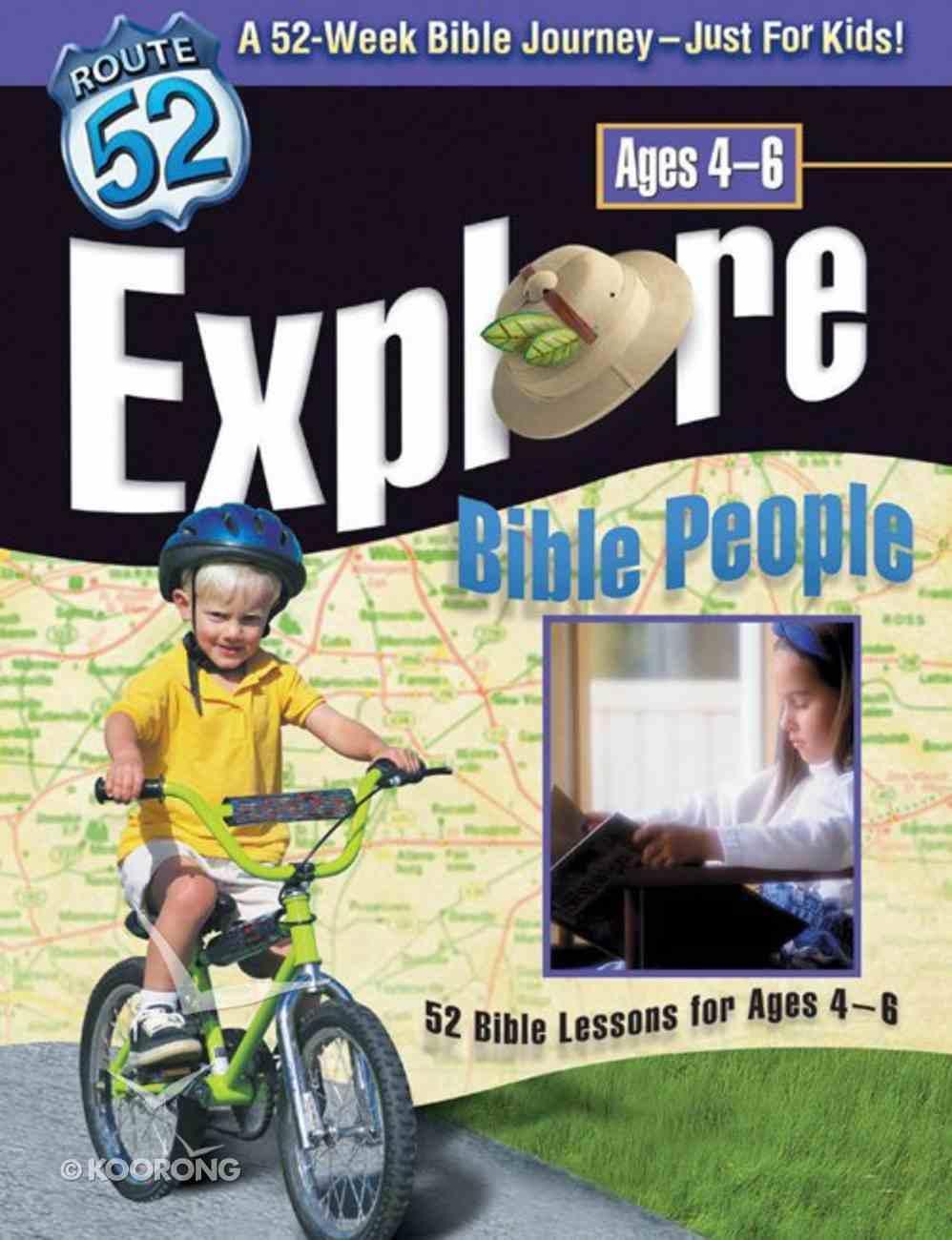 Route 52: Explore Bible People Paperback