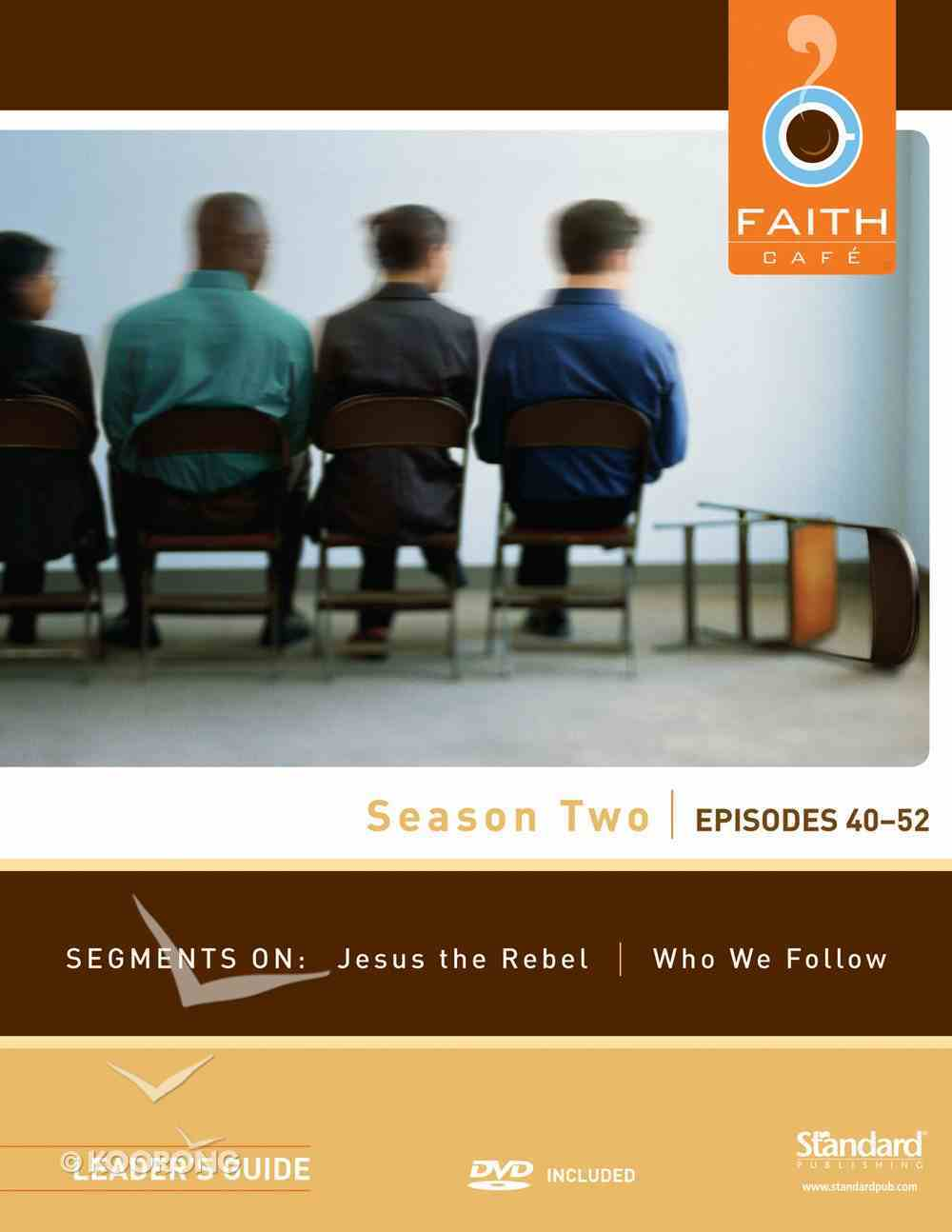 Faith Cafe: Season Two Episodes 40-52 (Leader's Guide) Paperback