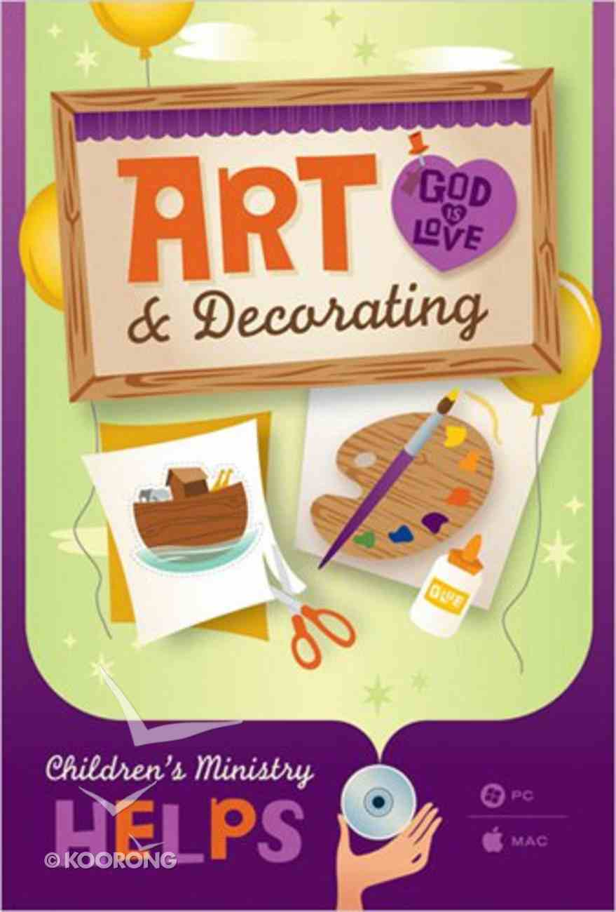 Children's Ministry Helps: Art & Decorating CD-rom