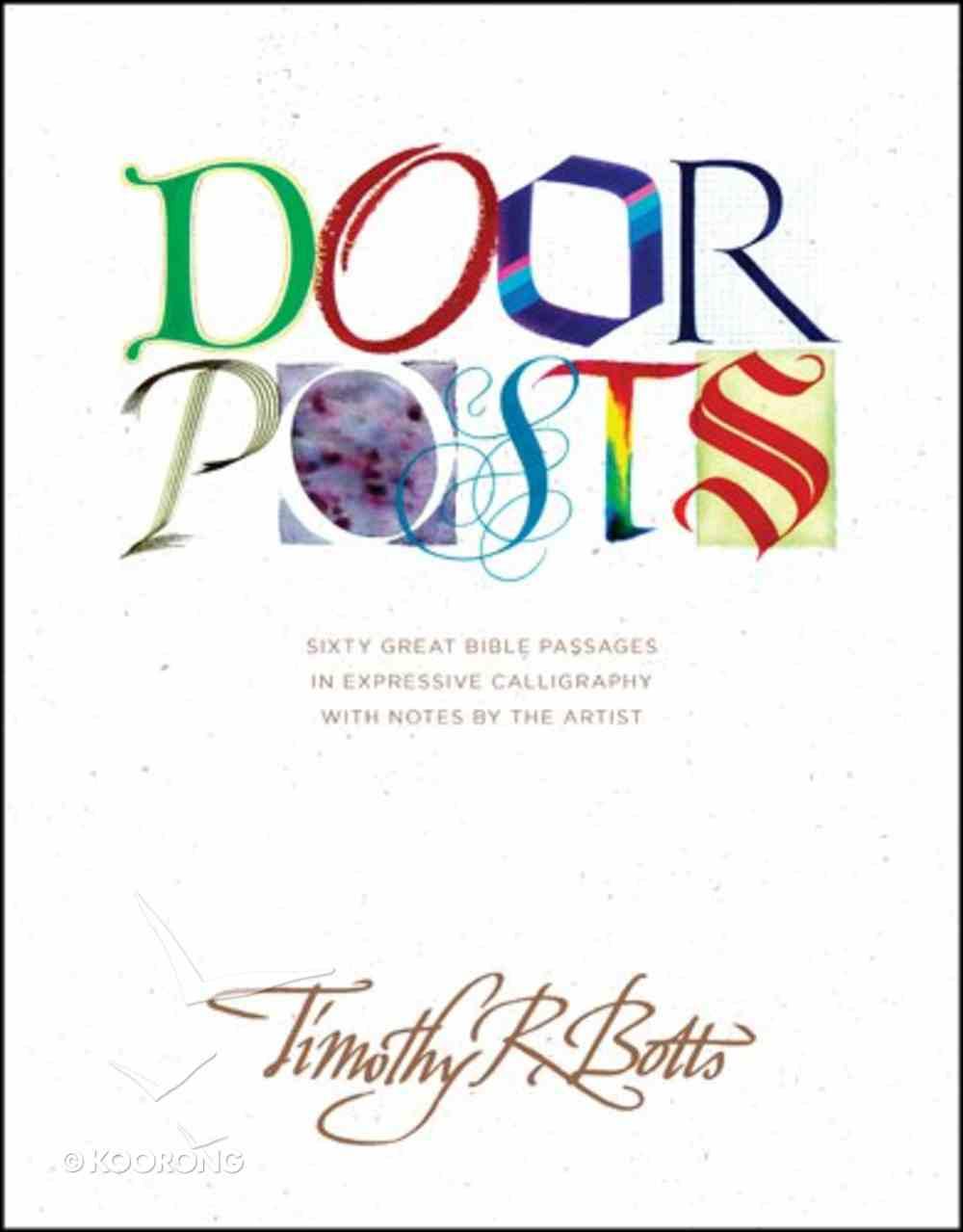 Doorposts Hardback