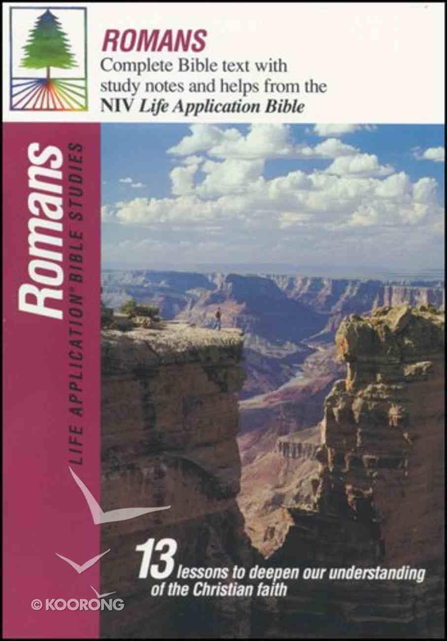 Romans (Life Application Bible Study Series) Paperback