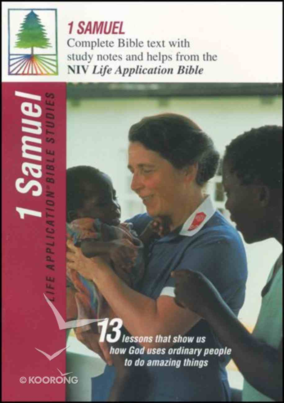 1 Samuel (Life Application Bible Study Series) Paperback