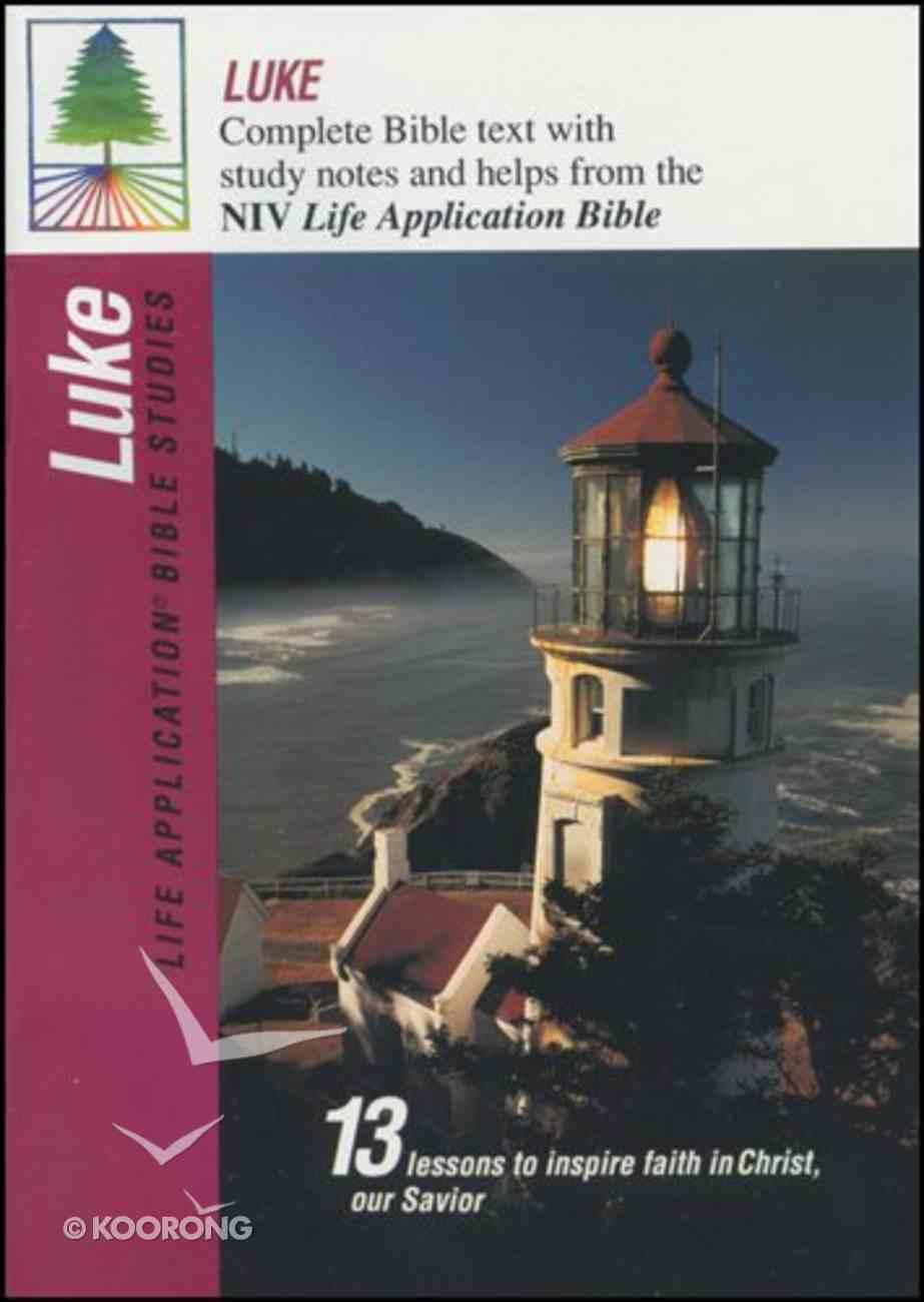 Labs NIV Luke (Life Application Bible Study Series) Paperback