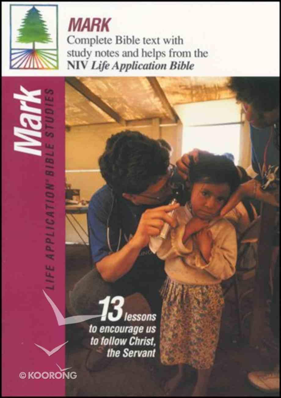 Labs NIV Mark (Life Application Bible Study Series) Paperback