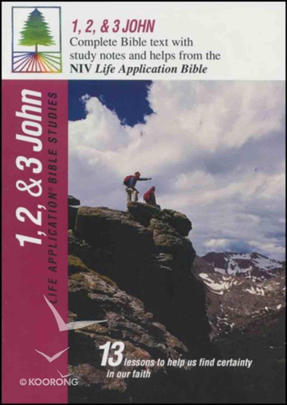 Labs NIV 1,2&3 John (Life Application Bible Study Series) Paperback