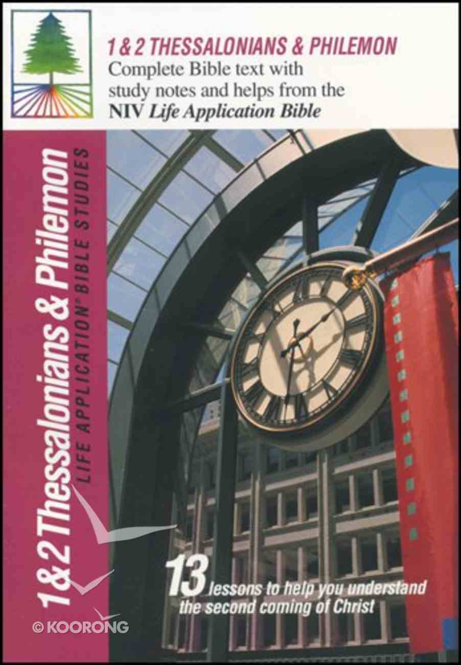 Labs NIV 1&2 Thessalonians & Philemon (Life Application Bible Study Series) Paperback