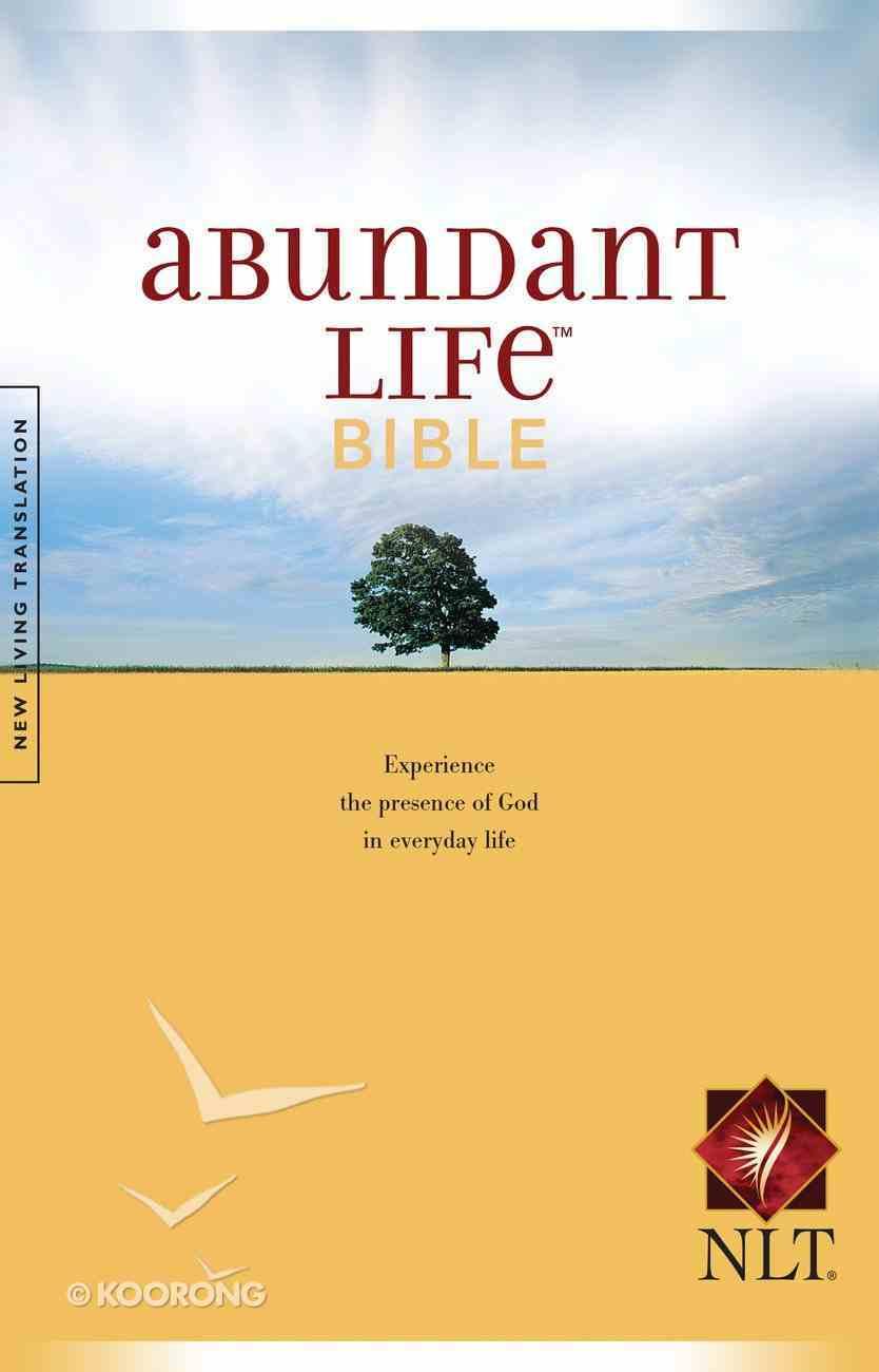 NLT Abundant Life Bible (Black Letter Edition) Paperback