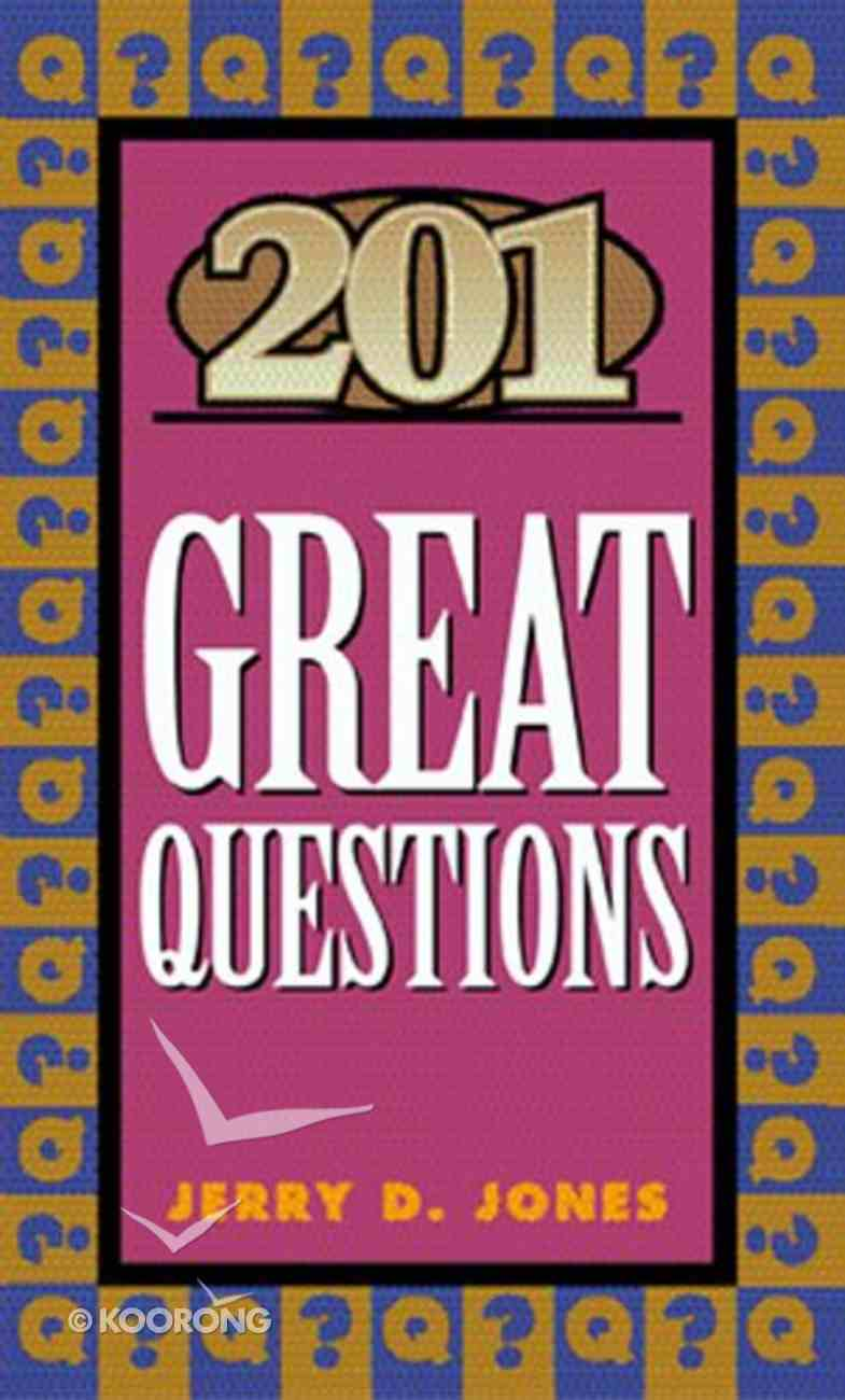 201 Great Questions Paperback