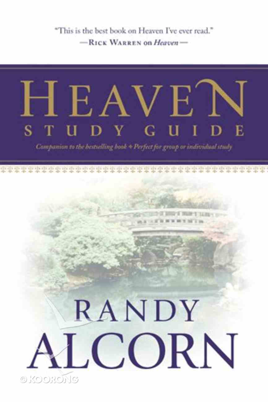 Heaven Study Guide Paperback