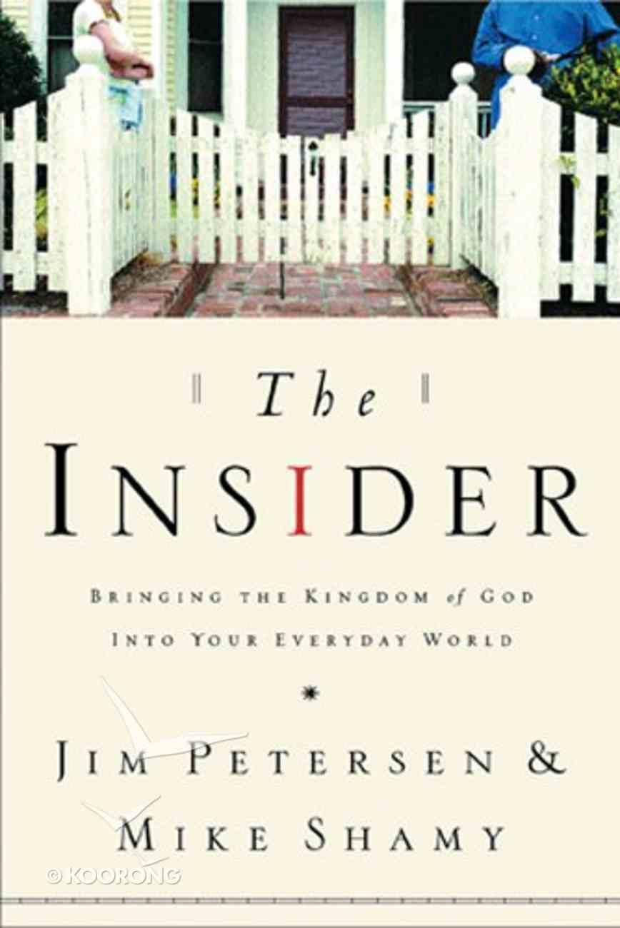 The Insider Paperback