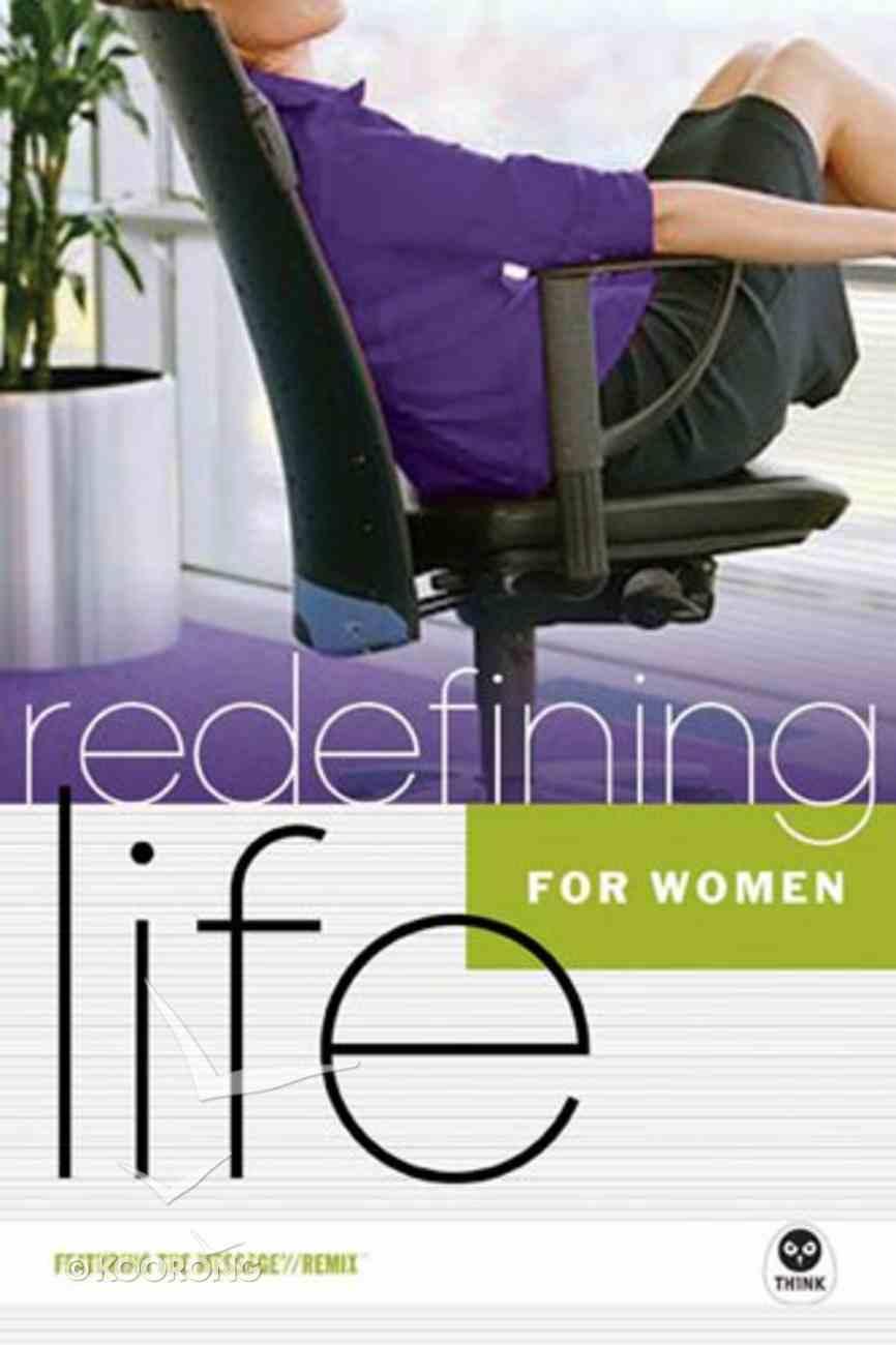 For Women (Redefining Life Studies Series) Paperback