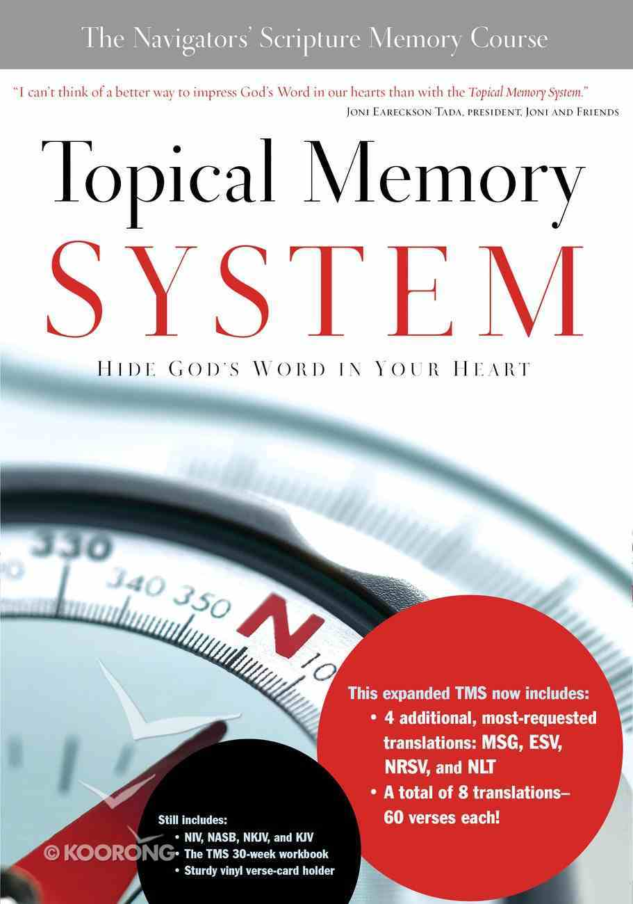 Topical Memory System: Hide God's Word in Your Heart Pack