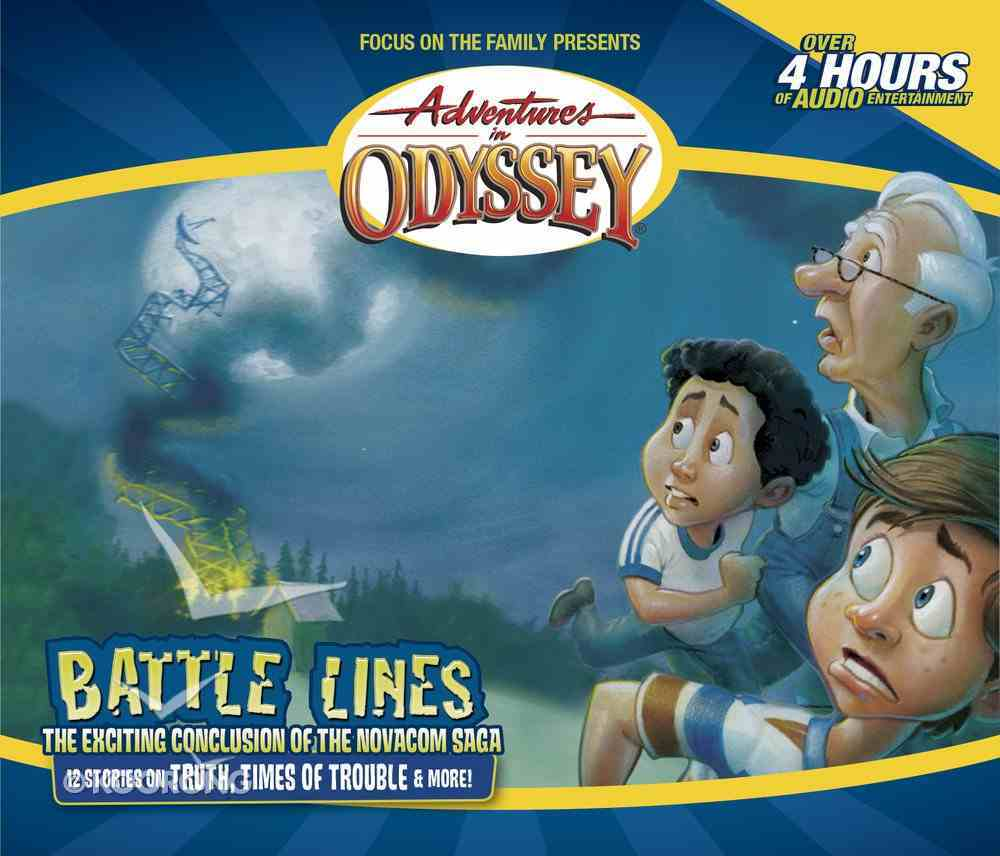 Battle Lines (#38 in Adventures In Odyssey Audio Series) CD