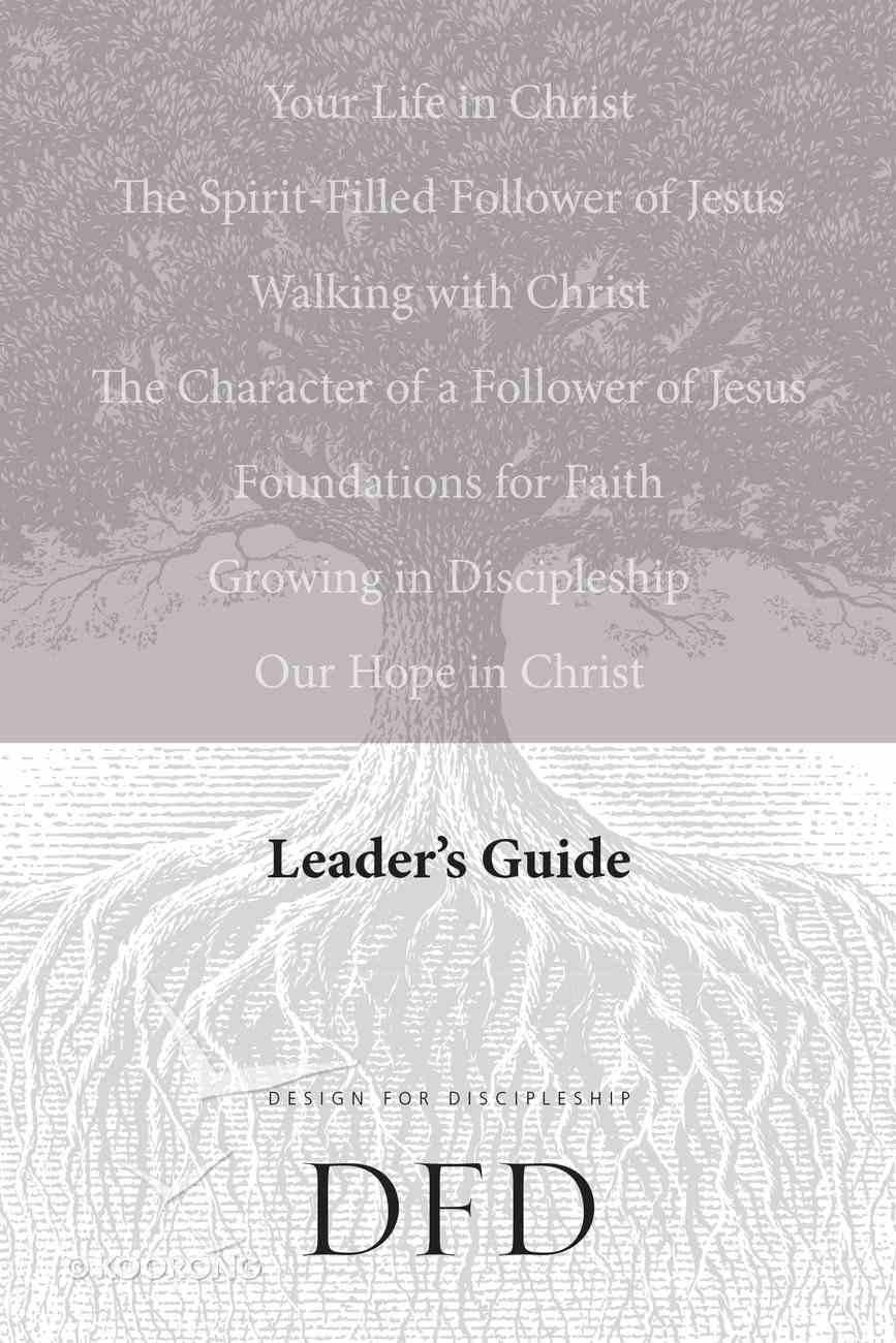 Leader's Guide (Design For Discipleship Series) Paperback