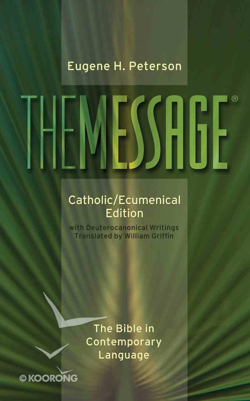 Message Catholic/Ecumenical Edition Hardback