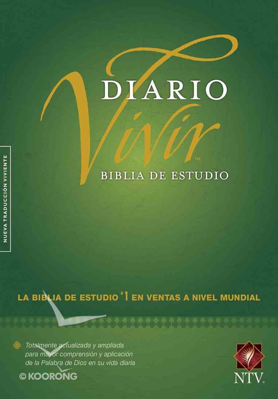 Ntv Biblia De Estudio Del Diario Vivir (Red Letter Edition) Hardback
