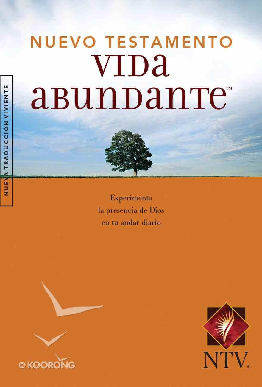 Ntv Vida Abundante Nuevo Testamento (Black Letter Edition) (Abundant Life New Testament) Paperback