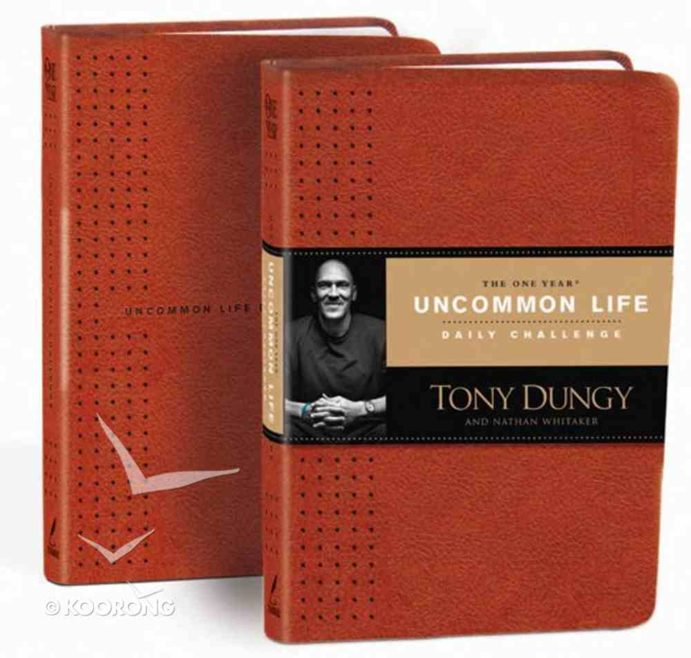 The One Year Uncommon Life Daily Challenge Imitation Leather