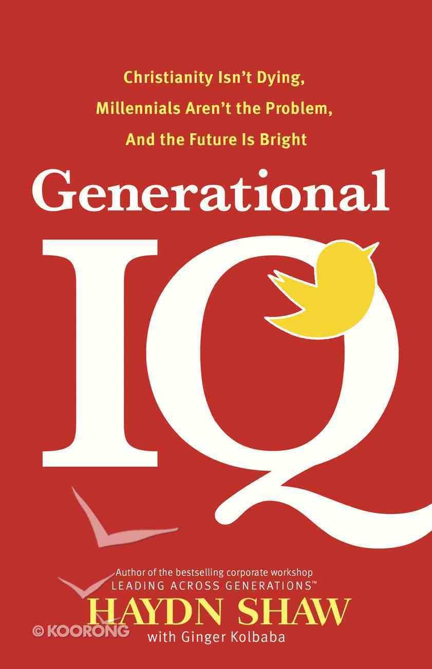 Generational Iq Hardback