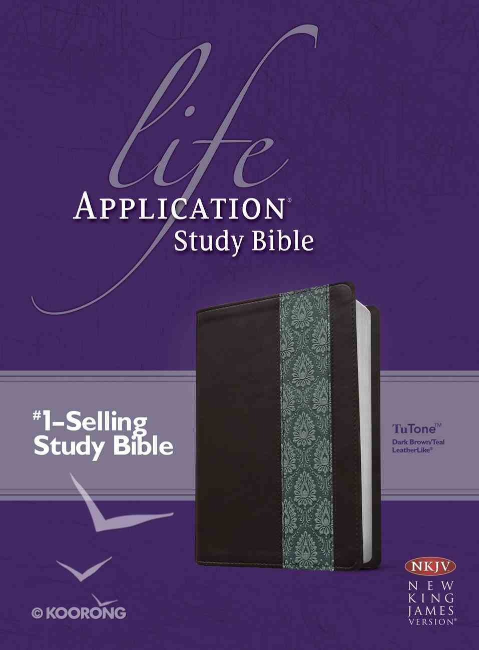 NKJV Life Application Study Bible 2nd Edition (Red Letter Edition) Imitation Leather