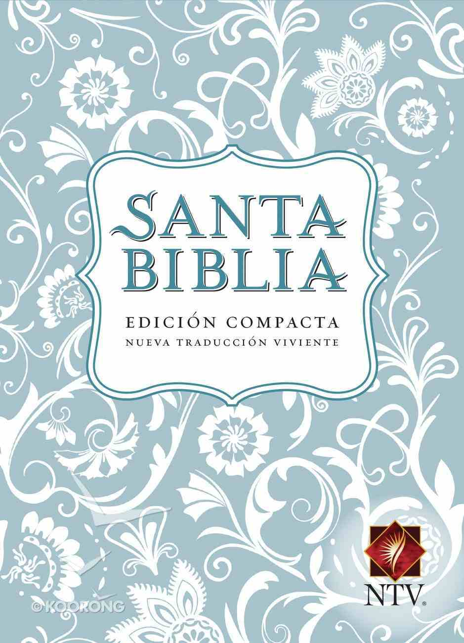 Ntv Santa Biblia Edicion Compacta Light Blue (Black Letter Edition) (Compact) Imitation Leather