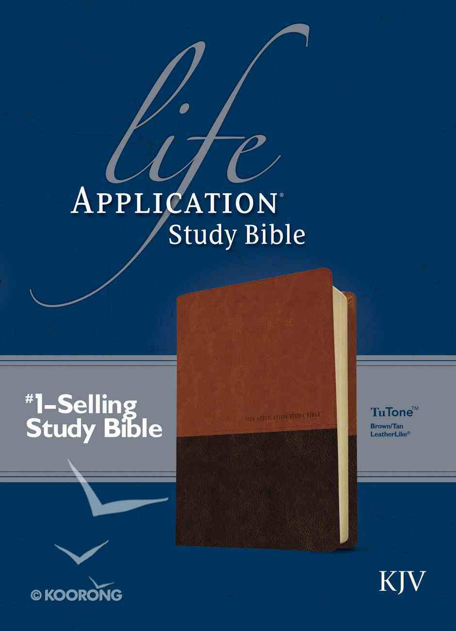 KJV Life Application Study Bible Brown/Tan 2nd Edition (Red Letter Edition) Imitation Leather