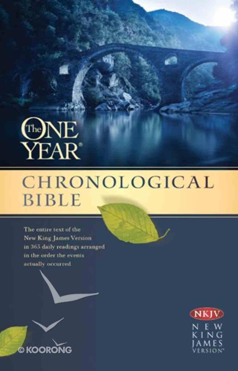 NKJV One Year Chronological Bible (Black Letter Edition) Paperback