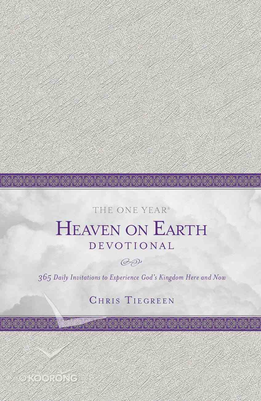 The One Year Heaven on Earth Devotional Imitation Leather