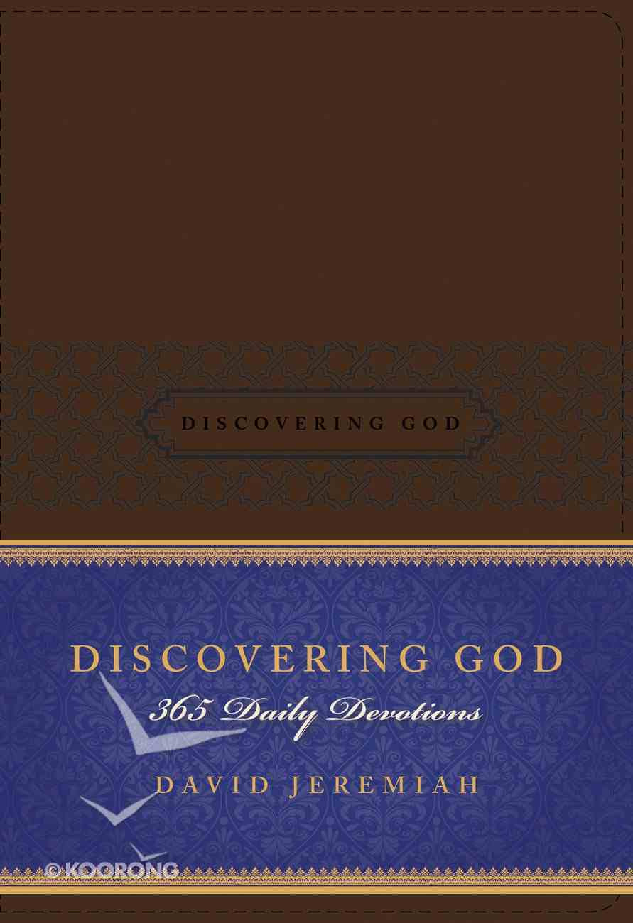 Discovering God Imitation Leather