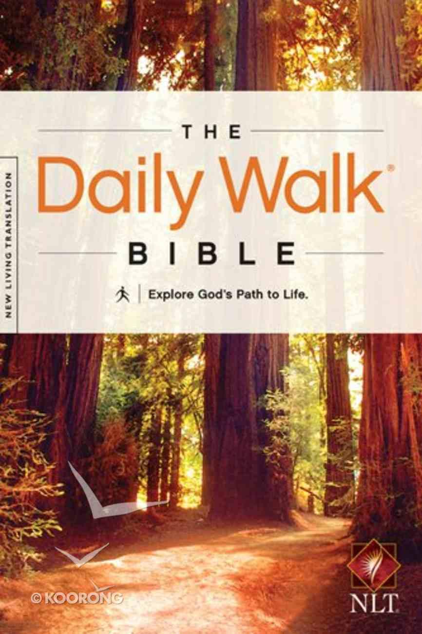 NLT Daily Walk Bible (Black Letter Edition) Paperback