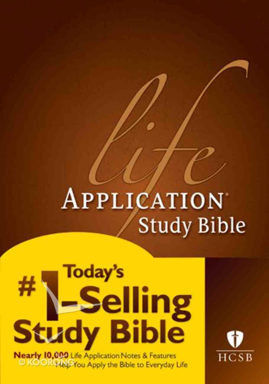 HCSB Life Application Study Bible (Red Letter Edition) Hardback