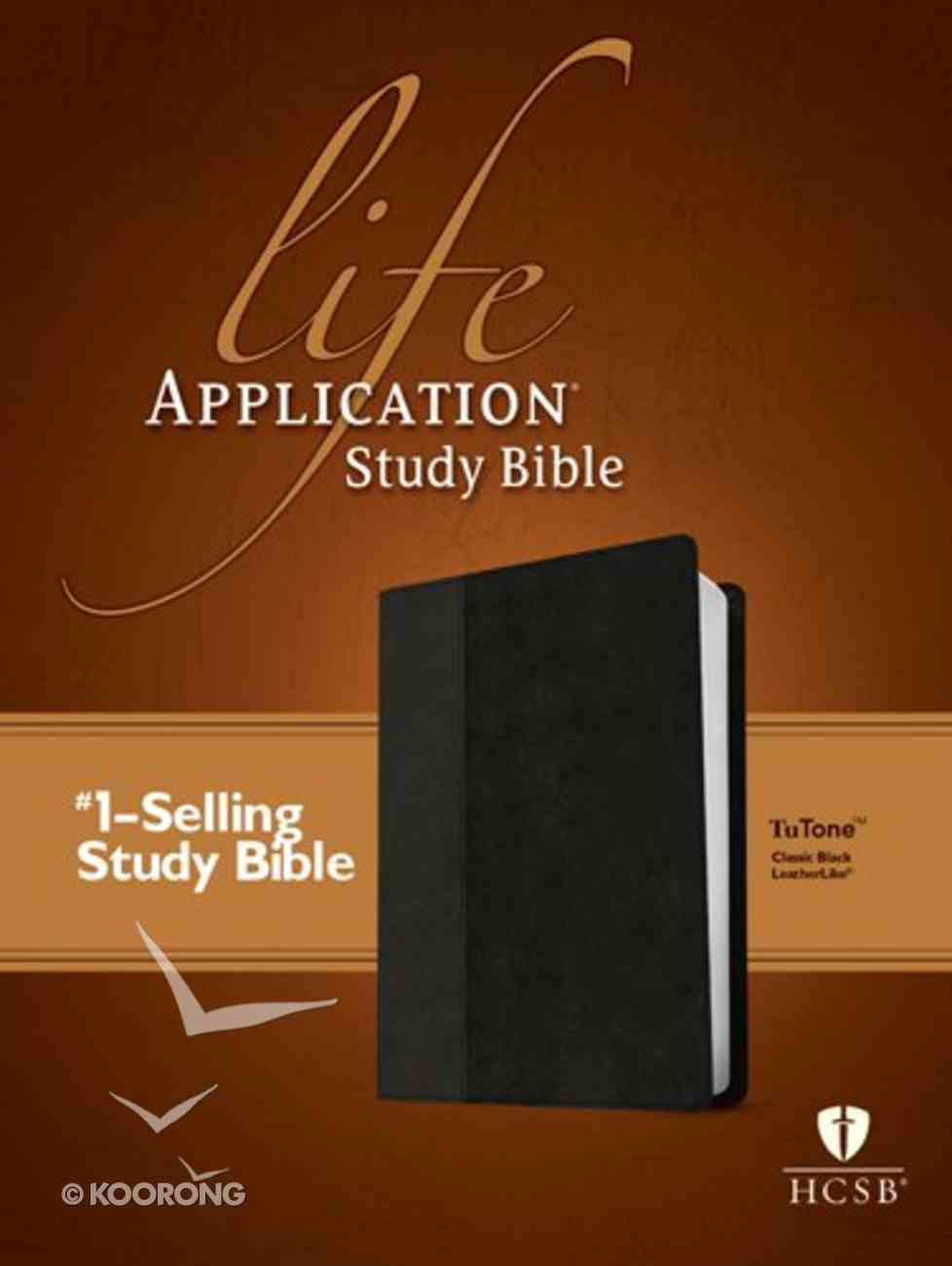 HCSB Life Application Study Bible Black (Red Letter Edition) Imitation Leather