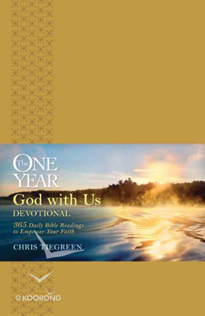 The One Year God With Us Devotional Imitation Leather