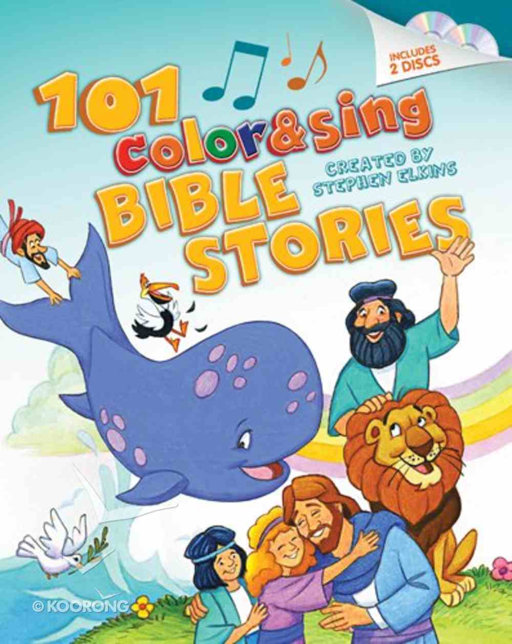 101 Color & Sing Bible Stories Hardback