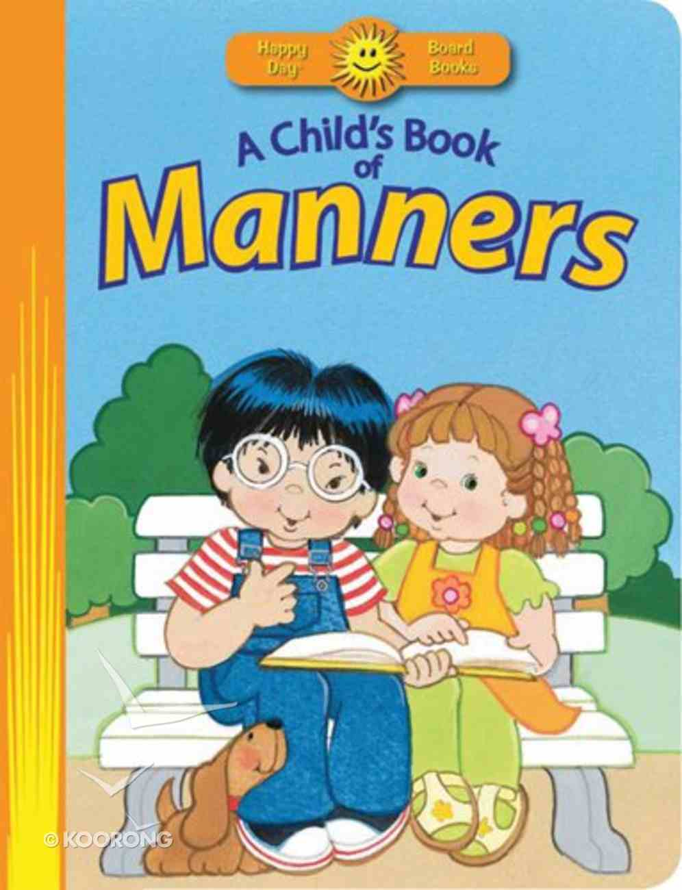 A Child's Book of Manners Board Book