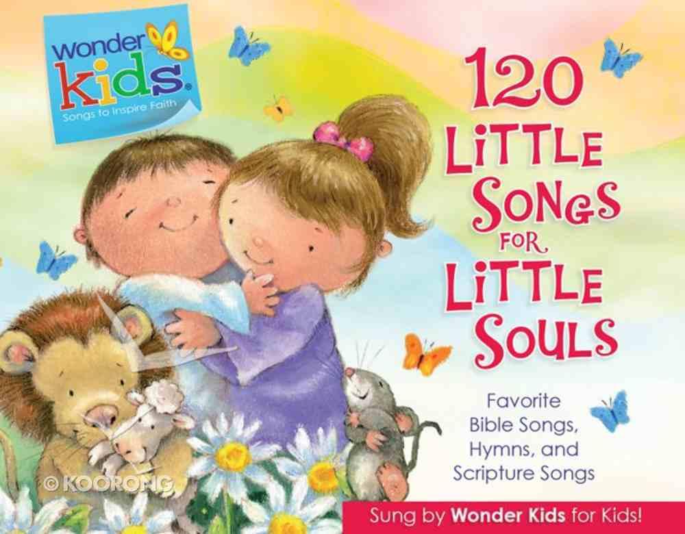 120 Little Songs For Little Souls (4 CD Set) (Wonder Kids Music Series) CD