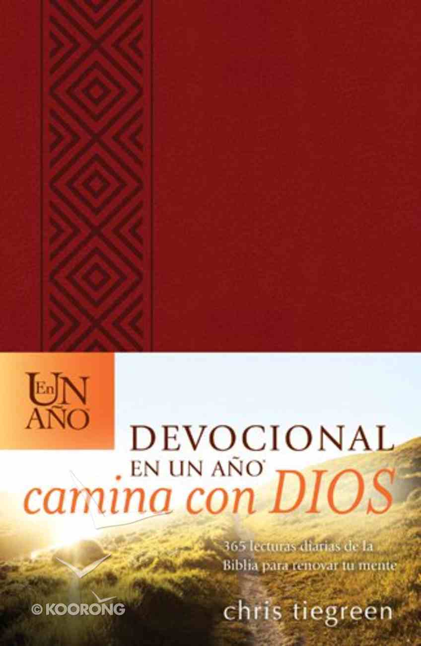 Devocional En Un Ano Camina Con Dios (The One Year Walk With God Devotional) Imitation Leather