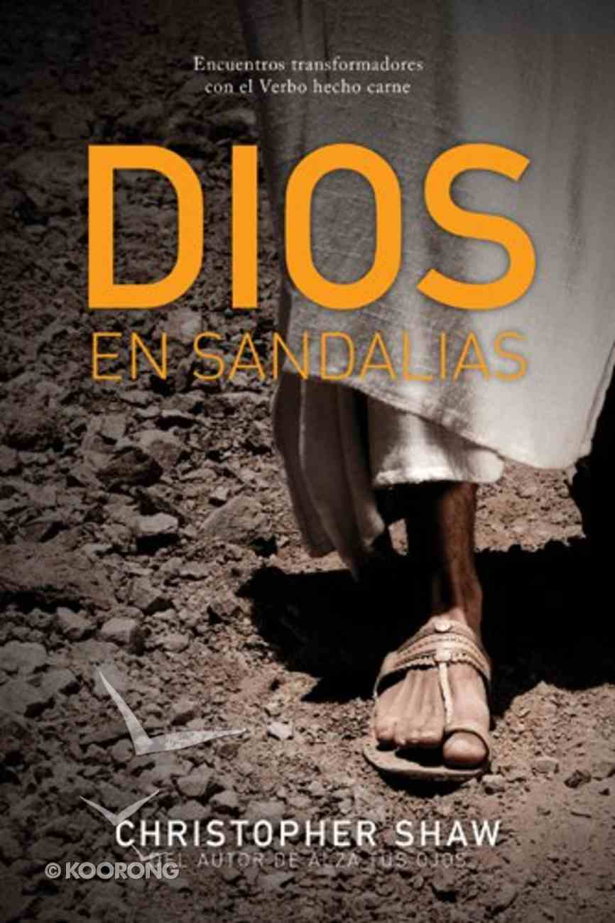 Dios En Sandalias (God In Sandals) Paperback